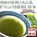 【 花粉症の皆さま必見! べにふうき緑茶 1.2g×80本