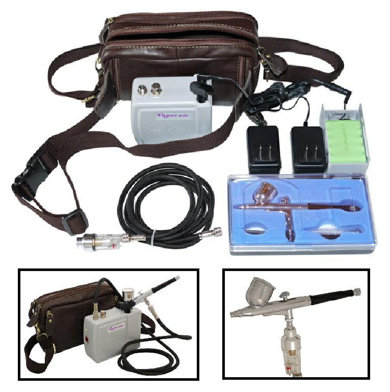 充電式エアーブラシコンプレッサーセット(おもちゃ・ホビー・ゲーム・趣味・コレクション・プラモデル・工