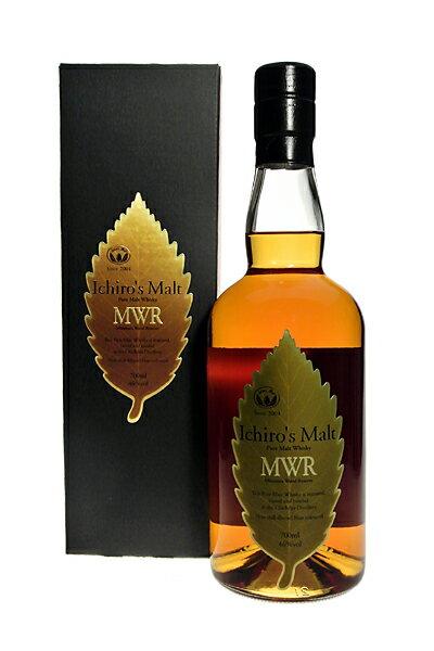 HANYU ICHIRO'S MALT MWR (Mizunara Wood Reserve) Leaf Label 46 % 70cl