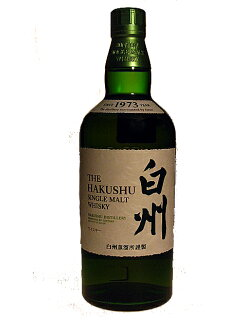 HAKUSHU single malt whisky Non Age 43% 70cl Suntory