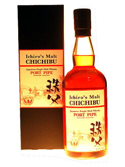 "CHICHIBU ""PORT PIPE"" ICHIRO'S MALT 54.5% 70cl by Venture Whisky JAPAN"