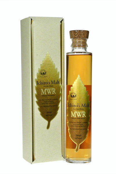 S malt MWR リーフラベル 46% small bottle 200 ml gift packages ventures whisky