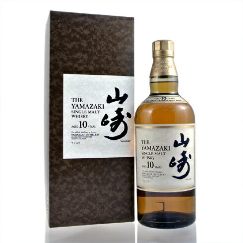サントリー 山崎 10年 白ラベル 40% 700ml SYJ1E 箱付きオールドボトルYAMAZAKI 10yo 40% 70cl White Label  old bottle with as original box