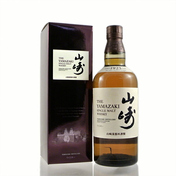 YAMAZAKI single malt whisky No Age Statement 43% 70cl