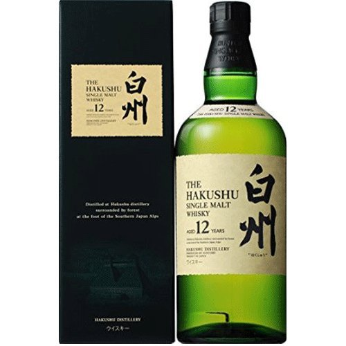 HAKUSHU 12 years 43% 70cl with the original box by Suntory