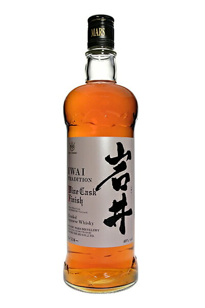 Iwai tradition ワインカスク finish 40% 750 ml case brewing IWAI TRADITION Wine Cask Finish 40% 75 cl by MARS KOMAGATAKE