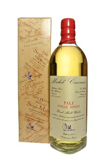 PALE SINGLE Single Malt Whisky  45% 70cl by Michel COUVREUR