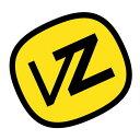 VON ZIPPER/ボンジッパー/ロゴ/ステッカ-/YEL/S02
