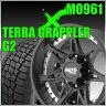 【送料無料】Motometal MO961 20インチ9J+18 PCD139.7x6穴 サテンブラック&NITTO TERRA GRAPPLER G2 275/55R20 FJクルーザー【ナット1台分プレゼント】
