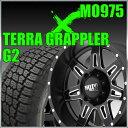 【送料無料】MOTOMETAL MO975 17x9J+18 PCD139.7x6穴 サテンブラック/ミルドスポーク&285/70R17 NITTO TerraGrappler G2 ニットー タイヤ テラグラップラー G2 4本セット