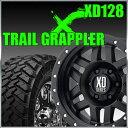 【送料無料】KMC XD128 Machete 17x9J+18 PCD139.7x6穴 サテンブラック&LT295/70R17 NITTO TrailGrappler ニットー タイヤ トレイルグラップラー M/T 4本セット