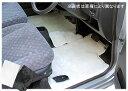 トヨタ カローラスパシオ NZE121/ZZE122N/ZZE124N 3列目マット無し ハイパイルフロアマット 全座席分セット ムートン調/長毛/高級