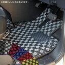トヨタ ノア/ヴォクシー AZR60G/AZR65G Nチェックフロアマット全座席分セット