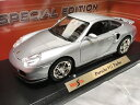Maisto マイスト1/18  シルバー Porsche 911 Turbo ポルシェ911ターボ ダイキャストカー ミニカー