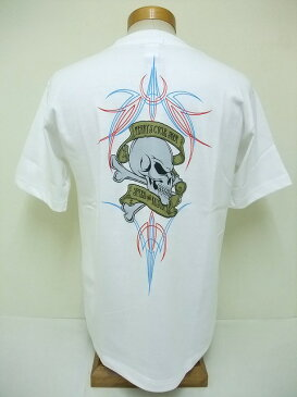 INDIAN MOTORCYCLE[インディアンモーターサイクル] Tシャツ TERRY'S CYCLE SHOP (WHITE)