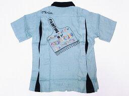 King Louie[キングルイ] ボウリングシャツ KL37600 ボーリングシャツ PAINTBRUSH 50's STYLE (ミントグリーン) 送料無料 代引き手数料無料 【RCP】