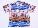 SUN SURF[サンサーフ] アロハシャツ スペシャルエディション TAKARA-BUNE 宝船 和柄 SS36654 (OFF WHITE) 送料無料 代引き手数料無料 【RCP】