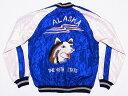 テーラー東洋[東洋エンタープライズ] スカジャン ALASKAN HUSKY×ALASKA MAP アラスカ ハスキー犬 TT13331 送料無料 代引き手数料無料 【RCP】