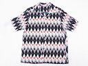STAR OF HOLLYWOOD[スターオブハリウッド] オープンシャツ DIAMOND SH37282 半袖 (OFF WHITE) 送料無料 代引き手数料...