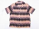 STAR OF HOLLYWOOD[スターオブハリウッド] オープンシャツ DIAMOND SH37282 半袖 (PINK) 送料無料 代引き手数料無料