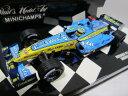 ミニチャンプス 【中古】 ルノー F1 チーム ショーカー 2006 F.アロンソ ★1/43 ミニカー