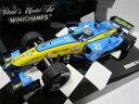 ミニチャンプス 【中古】 ルノー F1 チーム R24 F.アロンソ ★1/43 ミニカー