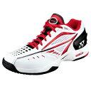 YONEX オムニ・クレー用テニスシューズ SHT-AGC(114) ホワイト・レッド