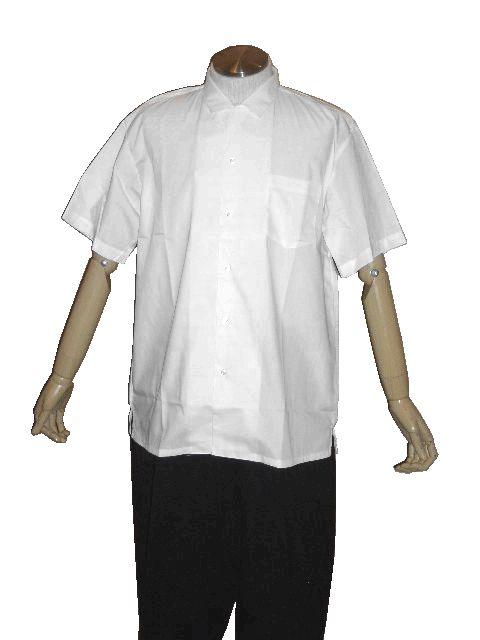 【応援団用】変形学生半袖シャツ/半袖オープンシャツ