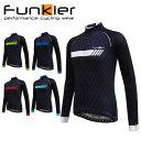 Funkier ファンキアー Tivoli-LW サイクルジャージ 長袖 ウェア メンズ サイクルウェア ロードバイクウェア