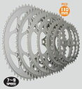 TIOGA Chainring 46T 5アーム用PCD:110mm 7〜9SPEED (チェーンリング) タイオガ チェーンリング CKR04900