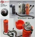 送料205円〜ターボライターを発明したWindmill社製 耐風衝撃防水再燃機能Quest(クエスト)ターボライター(新色オレンジマット)W03-0005