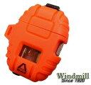 送料140円〜ターボライターを発明したWindmill社製 DELTA(デルタ)ターボライター(新色ブレイズオレンジ)
