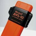 送料140円〜日本製 ターボライターを発明したWindmill社製 超軽量30g!AWL10(アウール)ターボライター(新色オレンジマット)307-0040