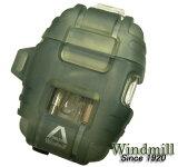 送料140?ターボライターを発明したWindmill社製 DELTA(デルタ)ターボライター(新色グリーンスモーク)