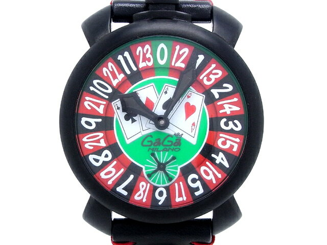 【プライスダウン】GAGA MILANO ガガ・ミラノ/マヌアーレ48 ラスベガス メンズ 5012.LV.01S 500本限定【大黒屋質店出品】【】 WATCH ウォッチ 時計 腕時計