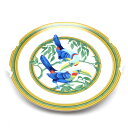 RoomClip商品情報 - HERMES エルメス トゥカン プレート 皿 250mm 食器 テーブル キッチン ウェア 陶器 ホワイト 白 インテリア 鳥 植物【大黒屋質店出品】【中古】【送料無料】