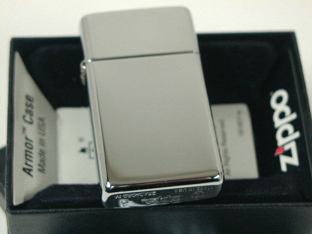 Zippo Slim Armor High Polished Chrome