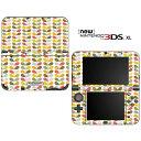 �ڤ���� �˥�ƥ�ɡ� new3DSLL �������� DecalSkin [PA24/Orla Color Stem Pattern] new3DS LL �ǥ� ������ �ǥ������� ������ ������ ���С������� new 3DSLL ����̵�� new 3DS LL