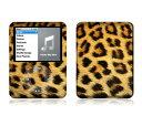 【お取寄せ】 iPod nano 第3世代 スキンシール DecalSkin BZ5/ヒョウ柄 レオパード デコ シール デコシート 前面 背面 シール カバーシール アイポッド ナノ iPodnano アイポッドナノ 3世代 3rd 送料無料