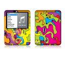 【お取寄せ】 iPod nano 第3世代 スキンシール DecalSkin AT2 Color Monsters デコ シール デコシート 前面 背面 シール カバーシール アイポッド ナノ iPodnano アイポッドナノ 3世代 3rd 送料無料