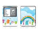 【お取寄せ】 iPod nano 第3世代 スキンシール DecalSkin YU1 Kingdom デコ シール デコシート 前面 背面 シール カバーシール アイポッド ナノ iPodnano アイポッドナノ 3世代 3rd 送料無料