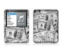 【お取寄せ】 iPod nano 第3世代 スキンシール DecalSkin Z4 The Benjamins デコ シール デコシート 前面 背面 シール カバーシール アイポッド ナノ iPodnano アイポッドナノ 3世代 3rd 送料無料