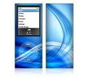 【お取寄せ】 iPod nano 第4世代 スキンシール DecalSkin Z2 Abstract Blue デコ シール デコシート 前面 背面 シール カバーシール アイポッド ナノ iPodnano アイポッドナノ 4世代 4th 送料無料