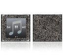 【お取寄せ】DecalSkin スキンシール Apple iPod nano 第6世代 BZ4 グレー レオパード 豹柄