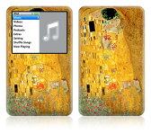 【iPod classic】スキンシール【即納】ipodclassic/AT28/The Kiss [ アイポッド クラシック ] かわいい/カバー/ケース/人気/おしゃれ/デコ/ステッカー デジタルオーディオプレーヤー アップル アクセサリー