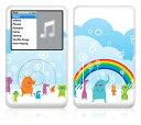 【お取寄せ】 iPod classic スキンシール DecalSkin [YU1/Animal Kingdom] デコ シール デコシート 前面シール 背面シール ホイールカバーシール アイポッド クラシック iPodclassic アイポッドクラシック