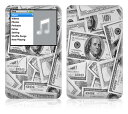 【iPod classic】スキンシール【即納】ipodclassic/Z4/ドル札 [ アイポッド クラシック ] かわいい/カバー/ケース/人気/おしゃれ/...