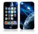 【iPod touch】【お取寄せ】第2世代 第3世代 スキンシール ZZ11/宇宙 [ アイポッドタッチ ipodtouch アイポッド] かわいい/カバー/ケース/人気/おしゃれ/デコ/ステッカー保護/シール/シート/デザイン/背面