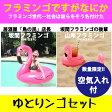 ゆとりんごセット フラミンゴフロート【送料無料】フラミンゴ 浮き輪 大人 浮き輪 ビッグサイズ 浮き輪 ボヘミアン 白鳥 浮き輪 ビーチ プール かわいい 浮き輪 大人 フラミンゴ ドリンクホルダー
