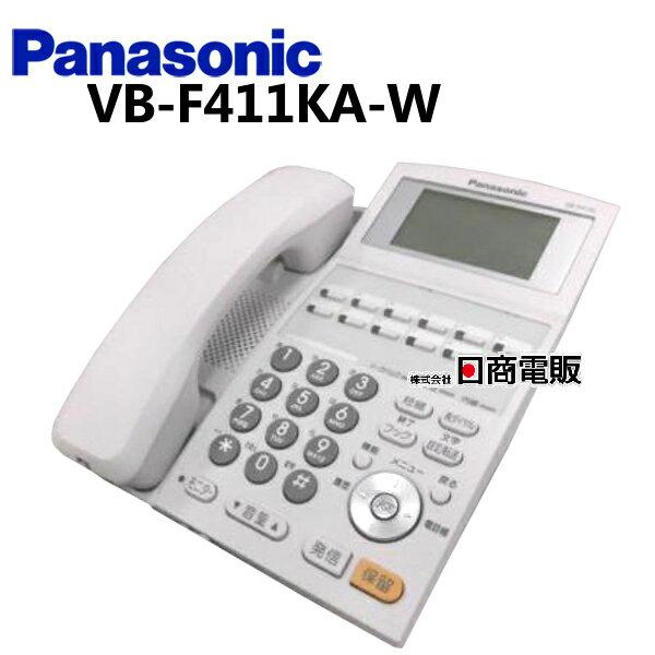 【中古】VB-F411KA-WPanasonic/パナソニック La Relier12ボタン漢字表示付電話機(白)【ビジネスホン 業務用 電話機 本体】